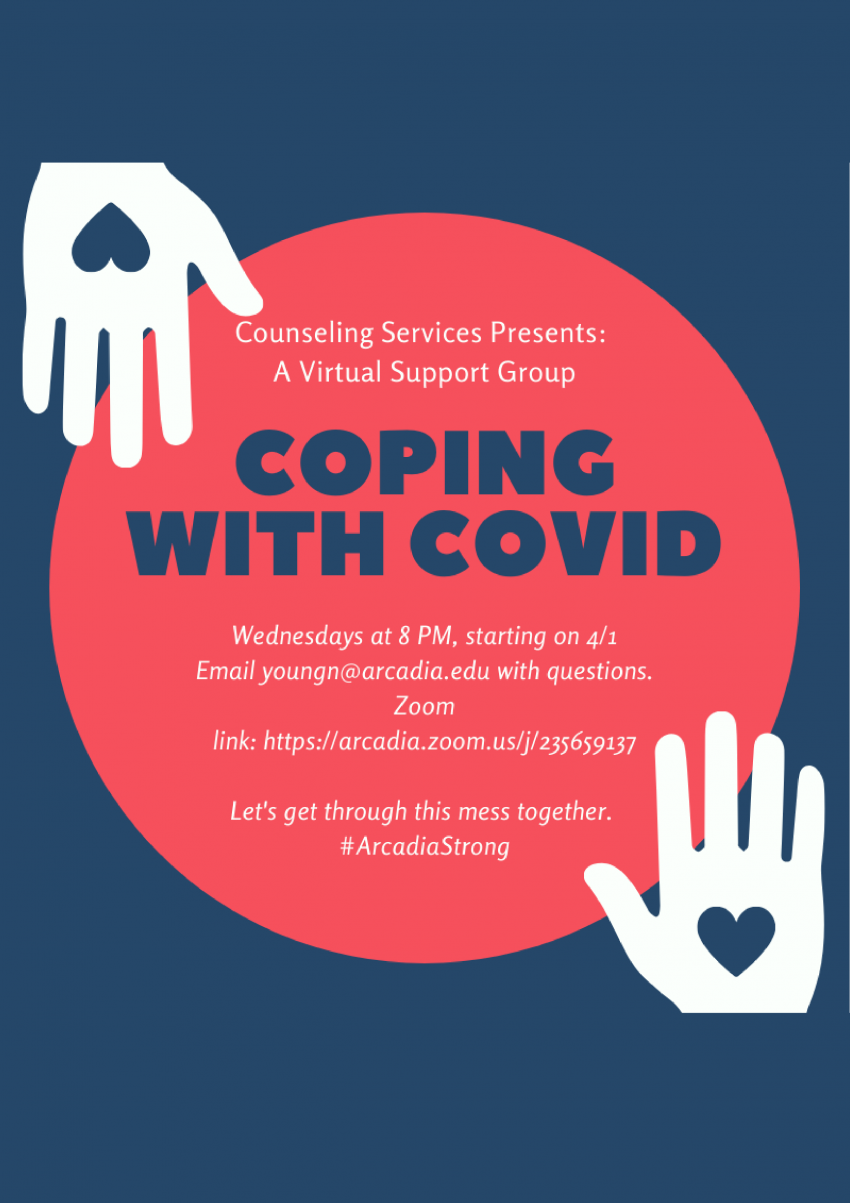 Coping with COVID flyer