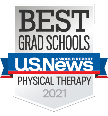 Best Grad Schools U.S. News Physical Therapy 2021 Badge