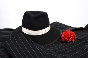 Gangster Clothing with Flower