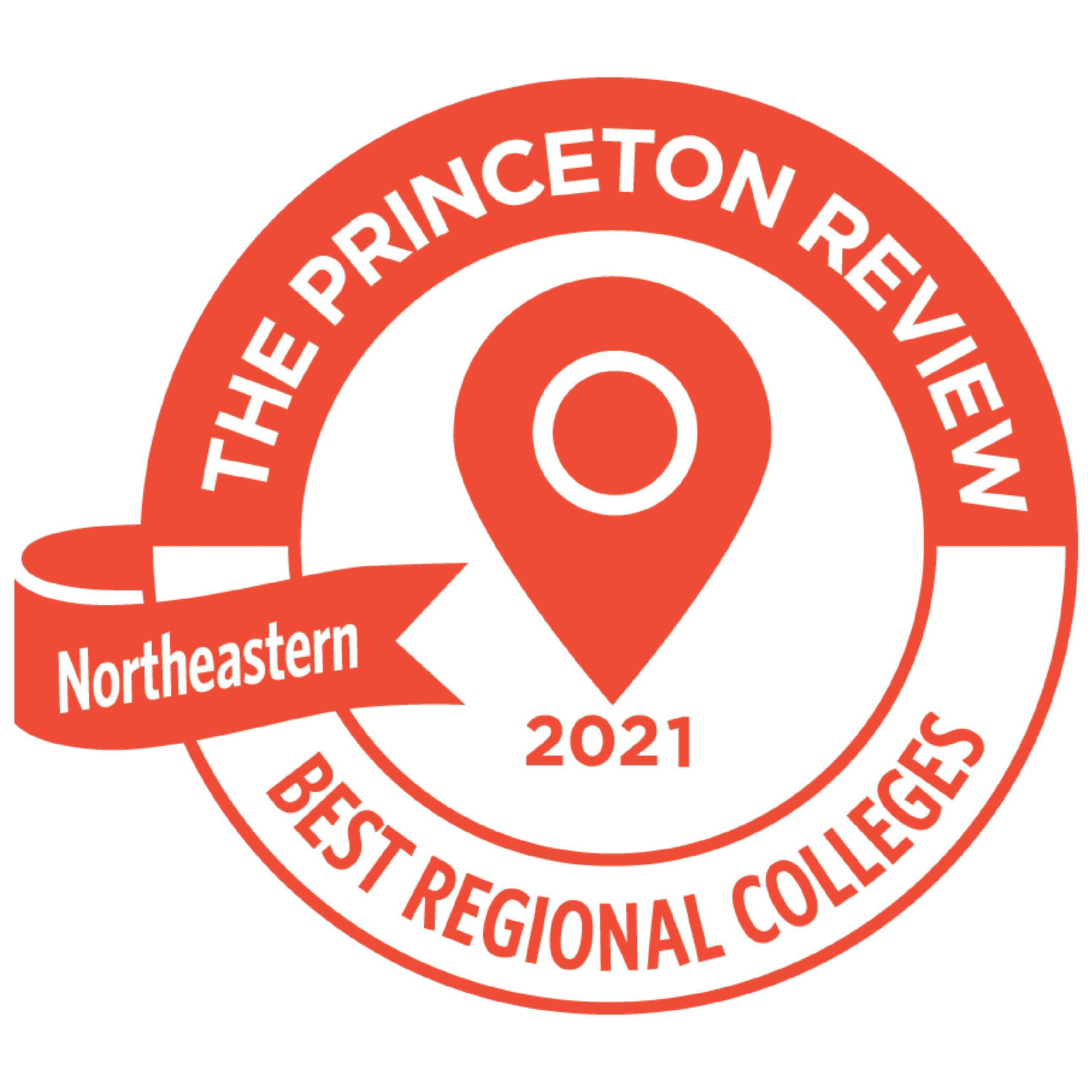 Graphic of Princeton Review 2021 Badge