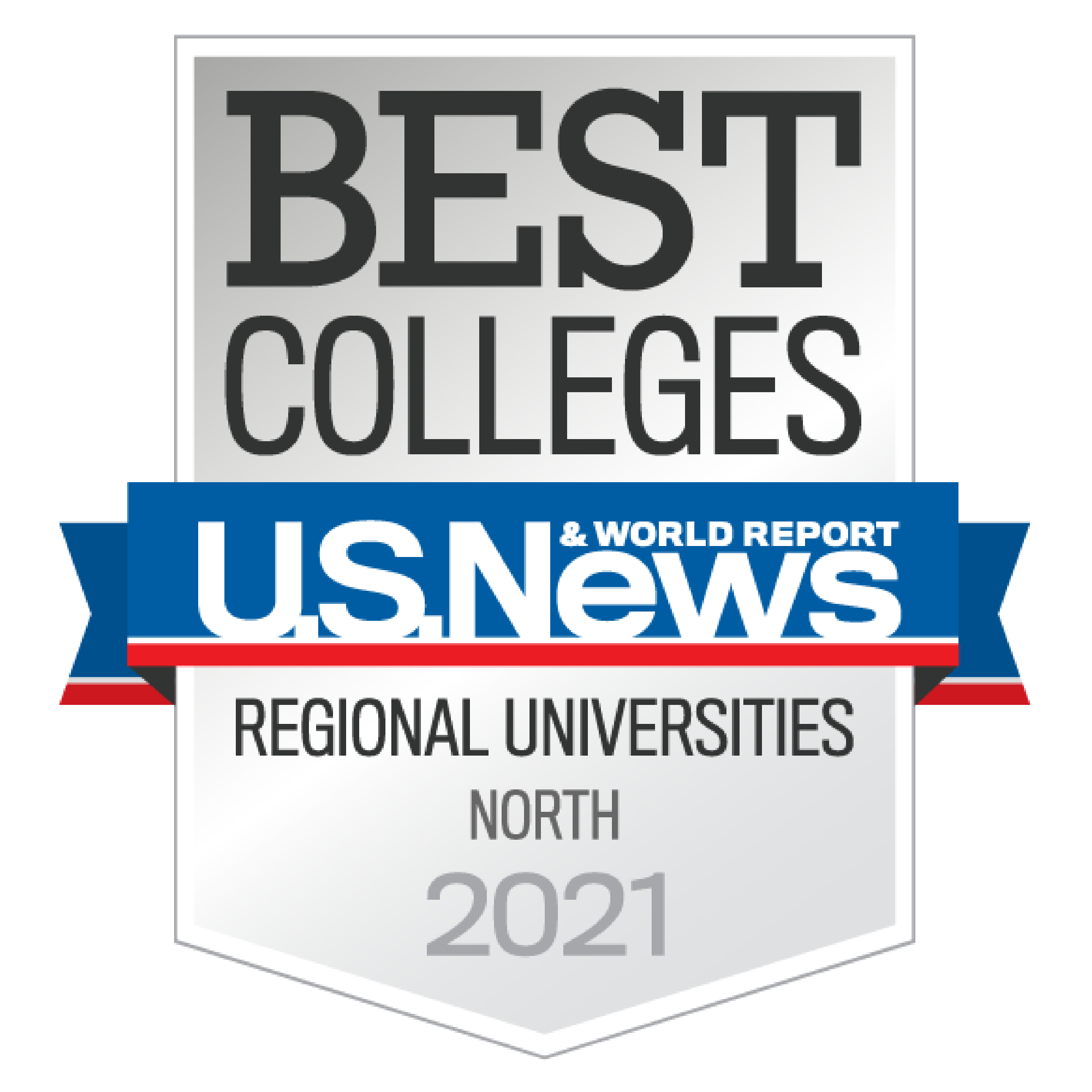 U.S. News & World Report BEST Colleges banner 2021