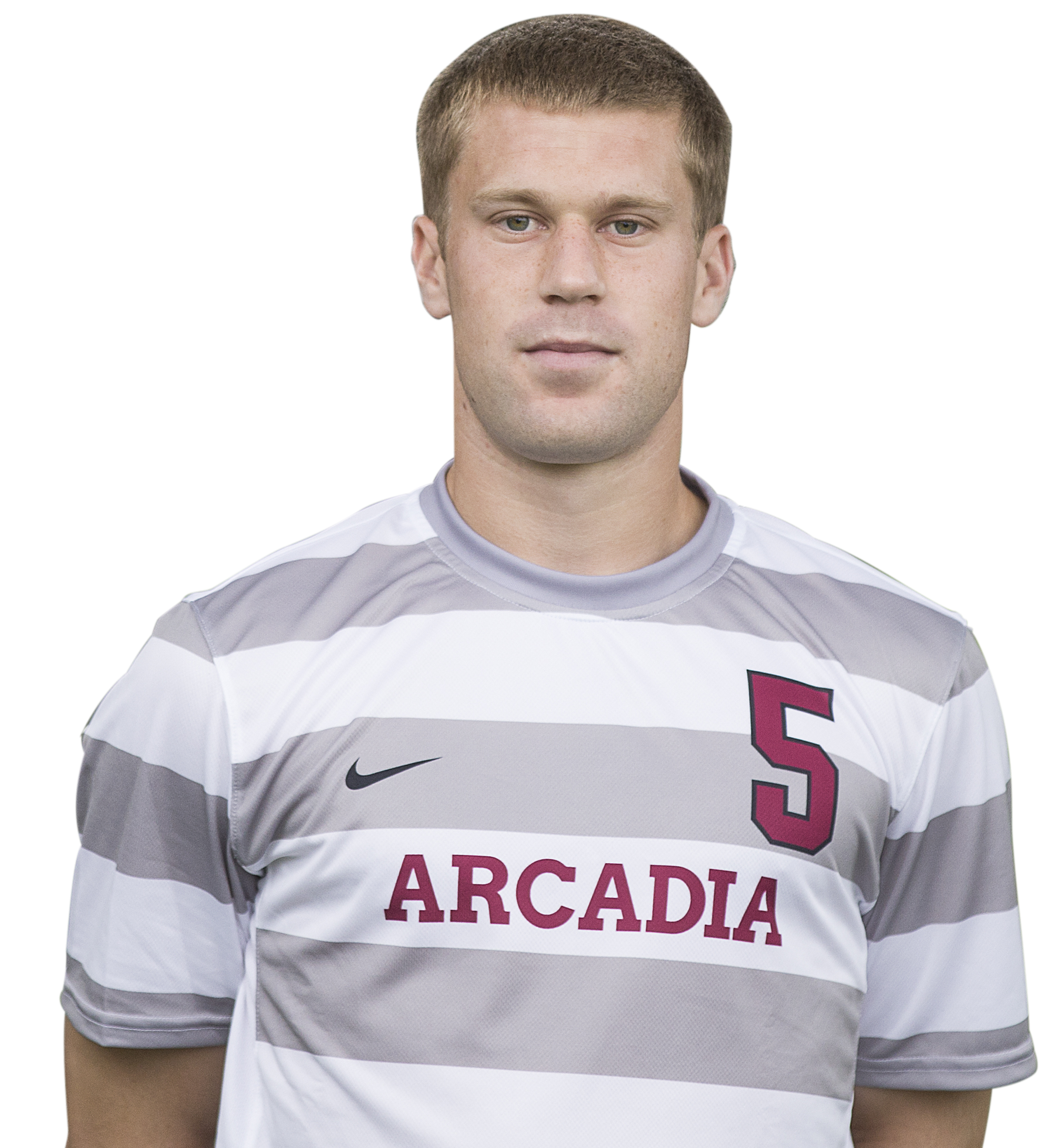 Male Arcadia soccer player.