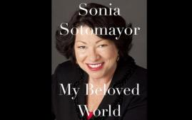 First-year summer reading book, My Beloved World by Sonia Sotomayor.