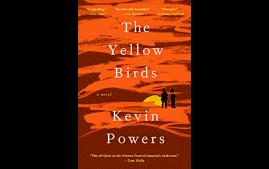 First-year summer reading book, The Yellow Birds by Kevin Powers.