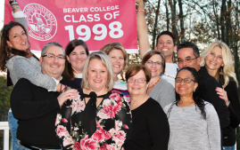 Members of the PA Class of 1998 gathered for their 20-year reunion.