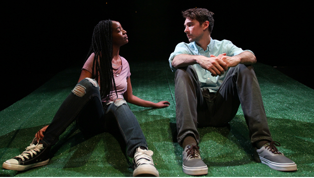 Kishia Nixon '15 & Trevor William Fayle '13 performed in Sing the Body Electri
