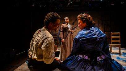Aaron Bell, Danielle Leneé, and Cheryl Williams in MY GENERAL TUBMAN