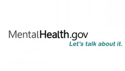 Mental Health.gov logo design