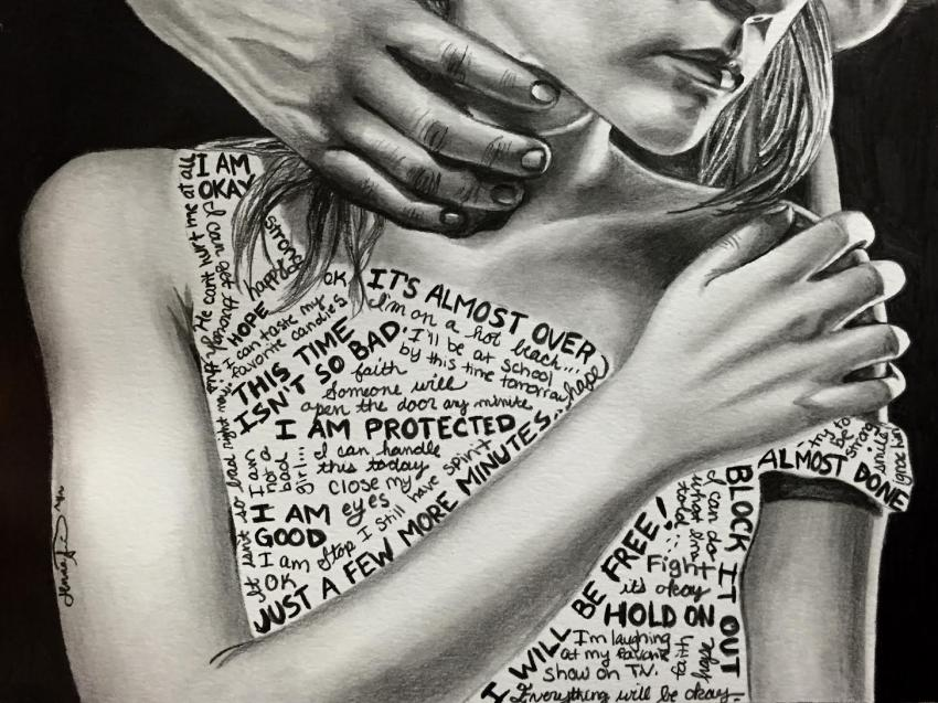 """""""I Am Protected"""" by Jenna Rose Simon was featured in a Darkness to Light blog post."""