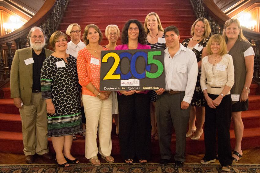 The School of Education celebrated the 10th anniversary of its first cohort.