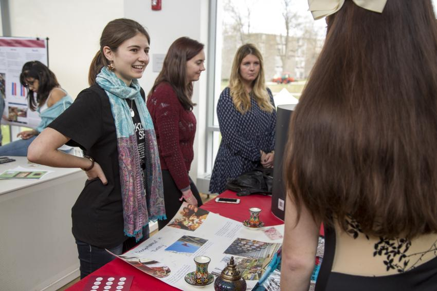 Bella Bumbera '19 discusses her Preview trip to Turkey during Global Expo.