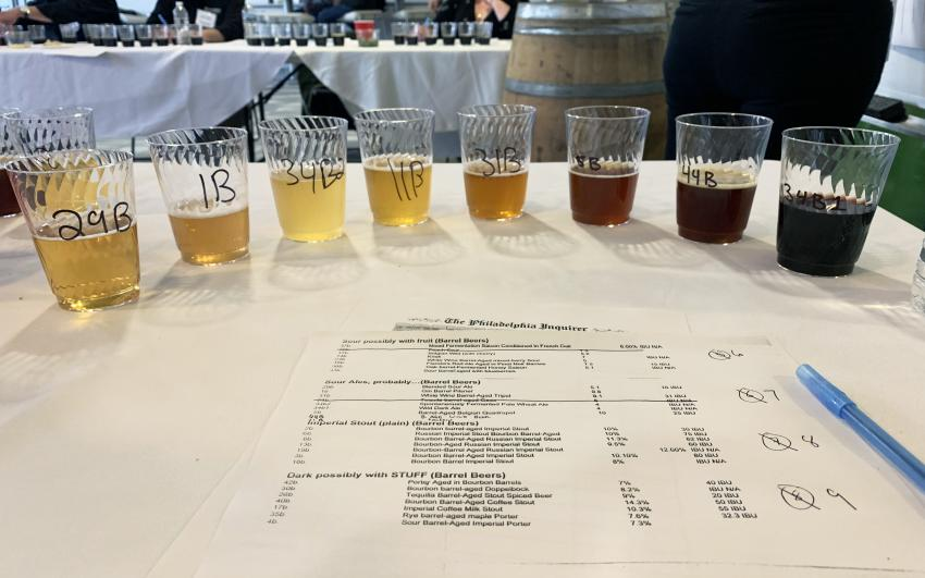 Beer ranking at the Brewvitational