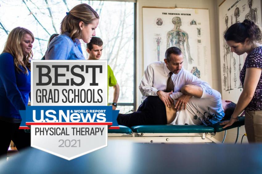 Best Grad Schools Physical Therapy 2021 US News and World Report badge