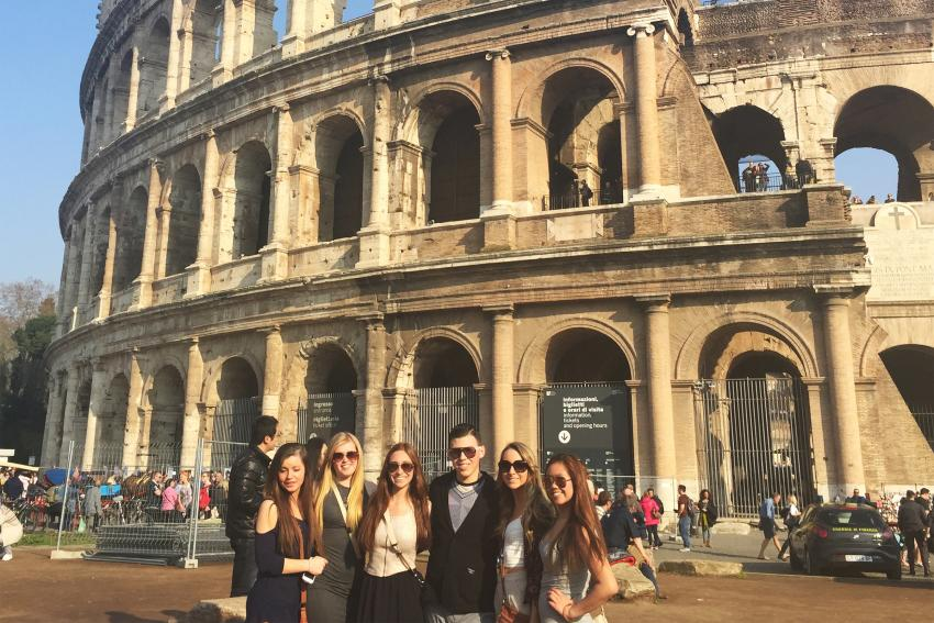 Photo courtesy of Samantha Galing '18, Rome Preview 2015.