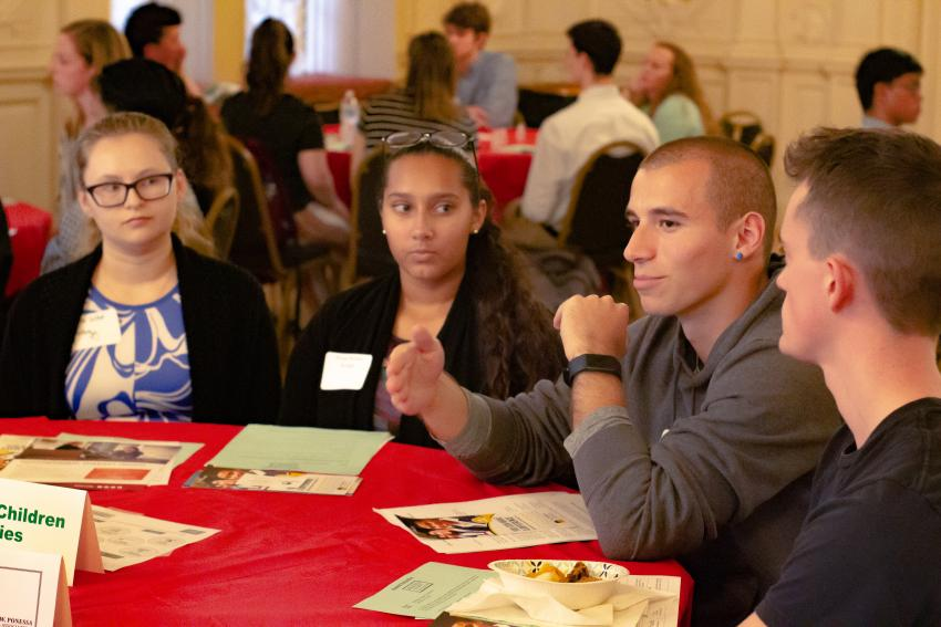 Career Education health care networking event