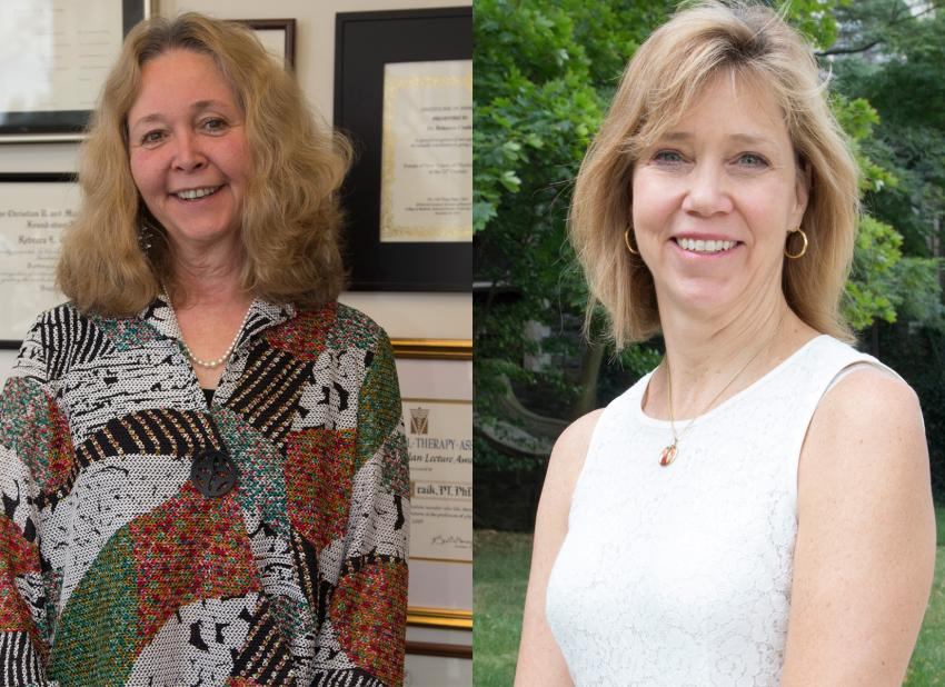 Dr. Rebecca Craik and Dr. Kate Mangione