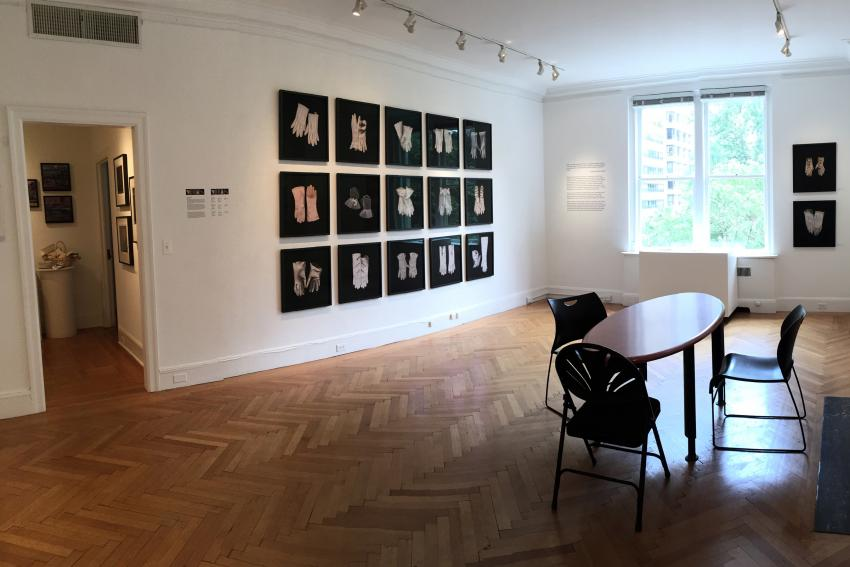A new exhibition displays photography by Johanna Inman '98 alongside works by Judith Taylor.