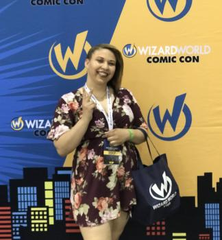 Lashanna Bryant at Wizard World Con.