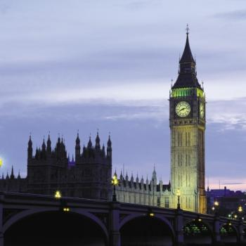 Big Ben and parliament in London.