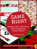 Game Night flyer that showcases popular board games